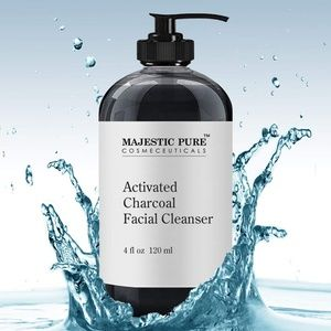Charcoal Facial Cleanser by Majestic Pure